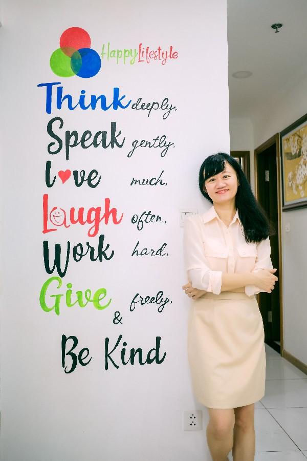 Những thông điệp ý nghĩa tại Công ty Happy Lifestyle
