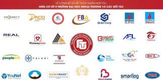 Cơ sở II trường Đại học Ngoại thương đã triển khai ký kết thỏa thuận hợp tác với 25 đối tác là những tổ chức, doanh nghiệp uy tín trong nước và quốc tế